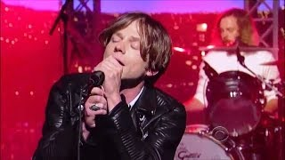 "[HD] Cage The Elephant - ""Come A Little Closer"" 10/11/13 David Letterman"