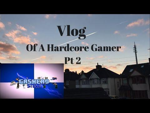 Hardcore Gamer  - Vlog Day 2 - Retro Gaming