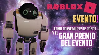 How to get this ROBOT and information from the GREAT AWARD of the event roblox imagination in Spanish