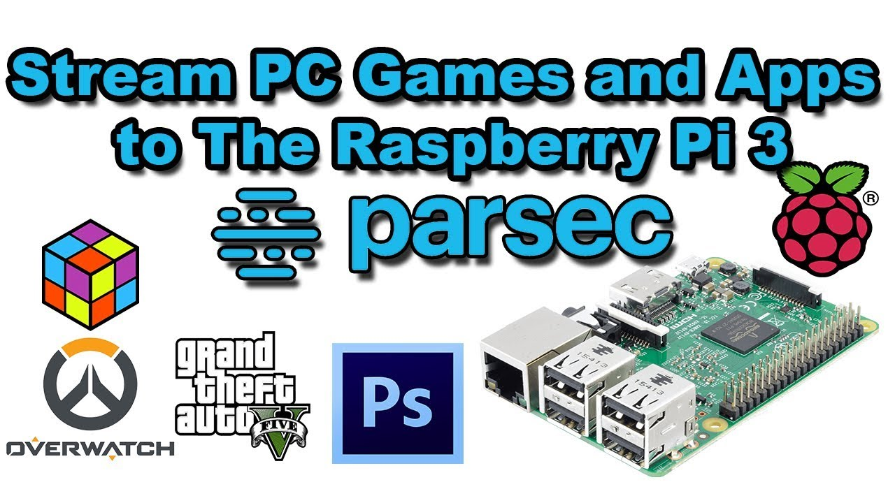 Setting Up On Raspberry Pi (Raspbian) – Parsec