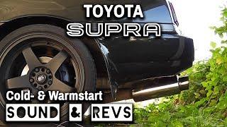 Toyota SUPRA Mk3 7M-GTE│Cold- & Warmstart│SOUND