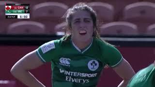 Ireland vs Canada I womens rugby 7s I Hamilton, New Zealand 2020 I Day 1
