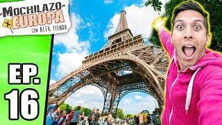 MOCHILAZO por EUROPA (FINAL)  | Alex Tienda en Francia  ✈️