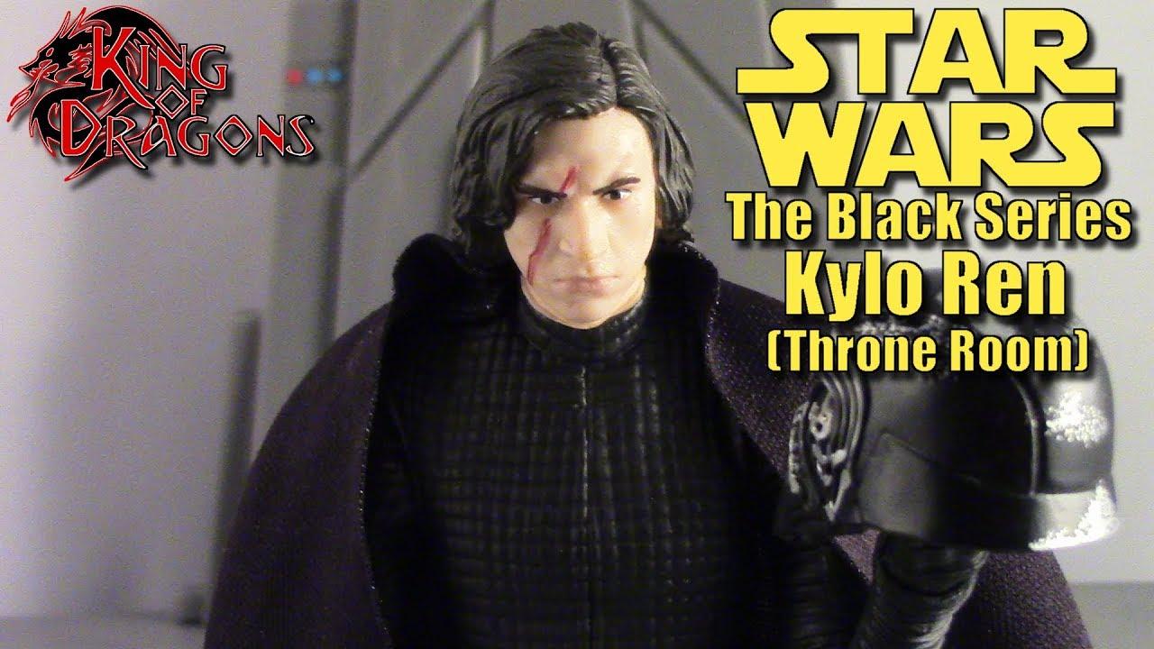 Star Wars Black Series Kylo Ren Throne Room The Last Jedi Walmart Exclusive