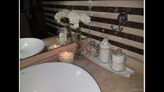كيف جعلت من حمامي البسيط حمام راقي و منظم بأشياء بسيطة   Organisation salle de bain