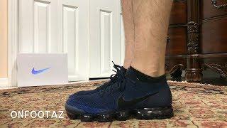 43b44355bd2 Nike Air VaporMax Midnight Navy Day To Night On Foot