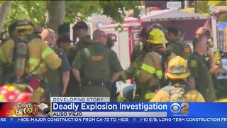 Report: Fatal Aliso Viejo Blast May Have Been Caused By Package