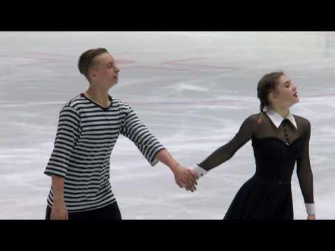2016 ISU Junior Grand Prix - Tallinn - Free Dance - Ria SCHWENDINGER / Valentin WUNDERLICH GER