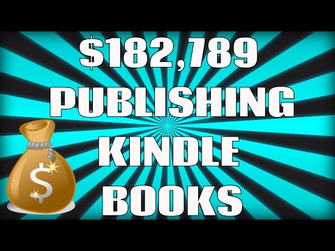 How I Made $182,789 Dollars Publishing Books In 1 Year