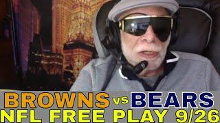 NFL Week 3 Picks and Predictions | Browns vs Bears Betting Preview | Cokin's Corner 9/23