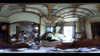 熊本地震 取り壊し前の被災家屋を360度カメラで記録 熊本市東区