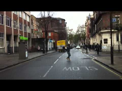 London streets (253.) - Finchley Road (NW3) - Marble Arch - Lambeth Road (SE11)