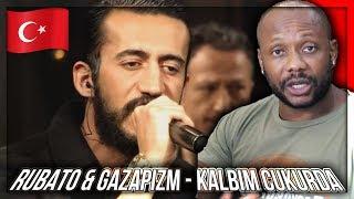Rubato & Gazapizm - Kalbim Çukurda TURKISH RAP MUSIC REACTION!!!
