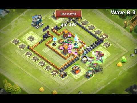 Best Castle Clash Defence Town Hall Lvl13