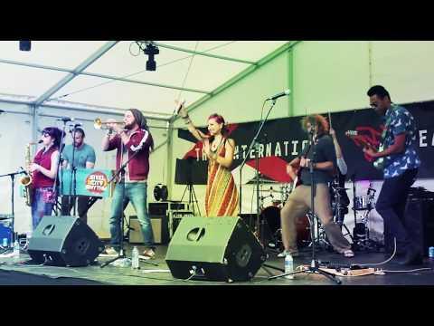 STEEL CITY RHYTHM LIVE - 1. Two Sides - Tramlines 2017 - Sheffield Peace Gardens - World Stage
