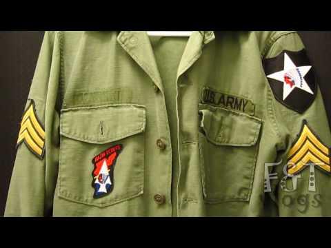 John Lennon Vietnam Era US Army Shirt