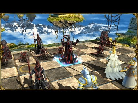 Battle vs Chess Floating Island - Gameplay