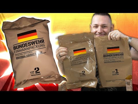 BUNDESWEHR EPA/MRE 2019 🍗🤤 Angebissen Vol.39  [German, Deutsch]