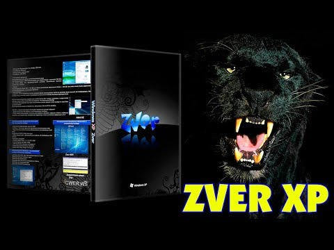 Установка Windows XP ZVER на старый ноутбук
