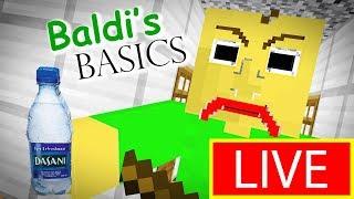 Monster School : BALDI'S BASICS | FORTNITE BATTLE ROYALE CHALLENGE  - Minecraft Animation