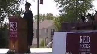 Amy's Graduation Speech Red Rocks Community College 2007