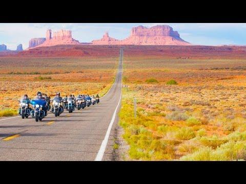 Lej en Harley Davidson motorcykel i USA