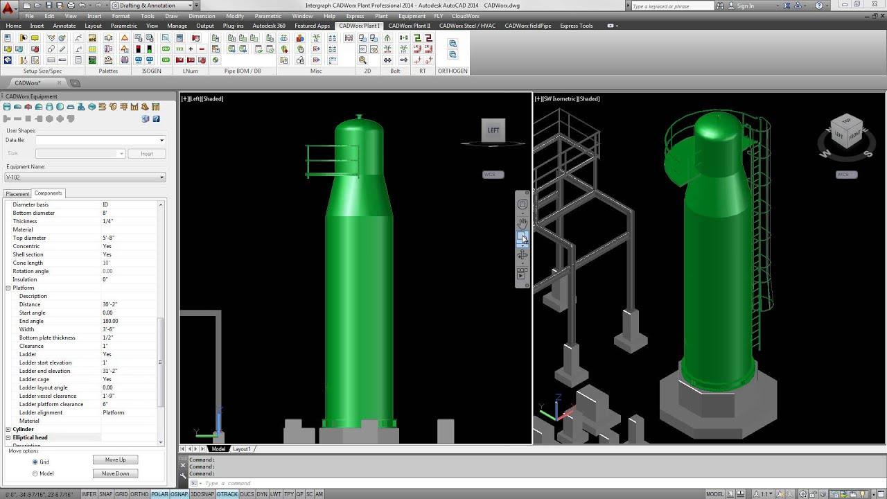 cadworx plant professional equipment overview youtube rh youtube com CADWorx Training Live CADWorx Tutorial
