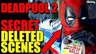 Deadpool 2 All Deleted Scenes - Deadpool Meets Baby Hitler 2018
