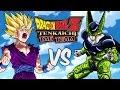 Dragon Ball Z Tenkaichi Tag Team - Gohan Ssj2 Vs Cell Perfeito (gameplay) video