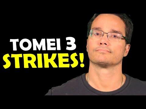TOMEI 3 STRIKES, ENTENDA O QUE ACONTECEU!