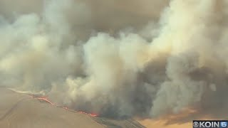 Substation Fire: 70,000 acres, 15% contained