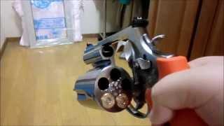 タナカワークス S&W M500ES モデルガン発火(cap firing modelgun) thumbnail