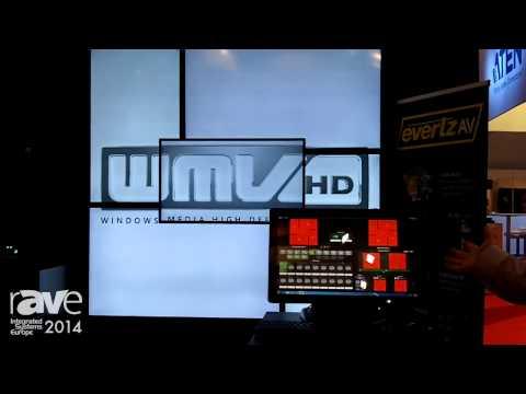 ISE 2014: Evertz Presents Asymmetrical Video Wall