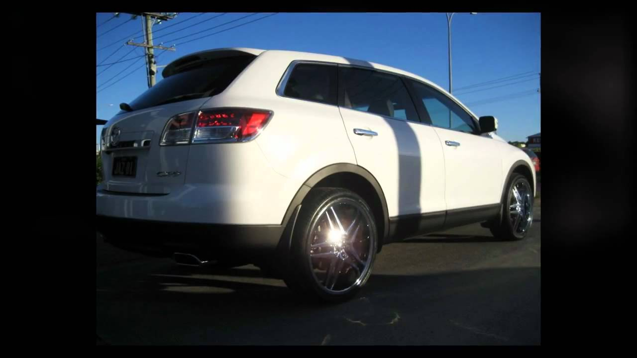 F1 Wheel Amp Tyre Mazda Cx9 Custom Rims 22 Inch Dirty Dog