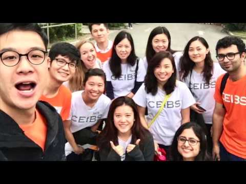 Exchange students share fun moments, and say thanks, from CEIBS Shanghai