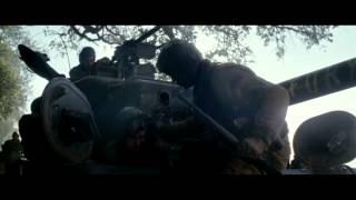 Fury - ambush - burning soldier scene/ مترجم