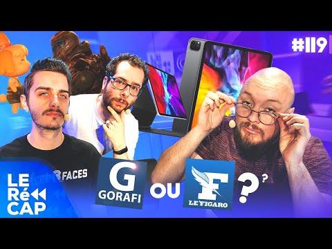 Gorafi Ou Figaro, Animal Crossing X Doom, Et Le Nouvel Ipad ! | LE RéCAP à La Maison #119