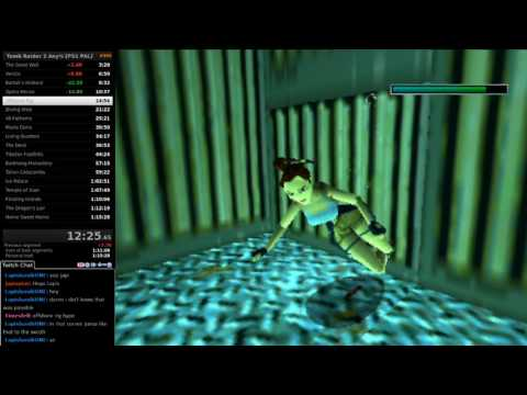Tomb Raider 2 Any% SS Speedrun in 1:10:49 IGT [PS1 PAL WR]