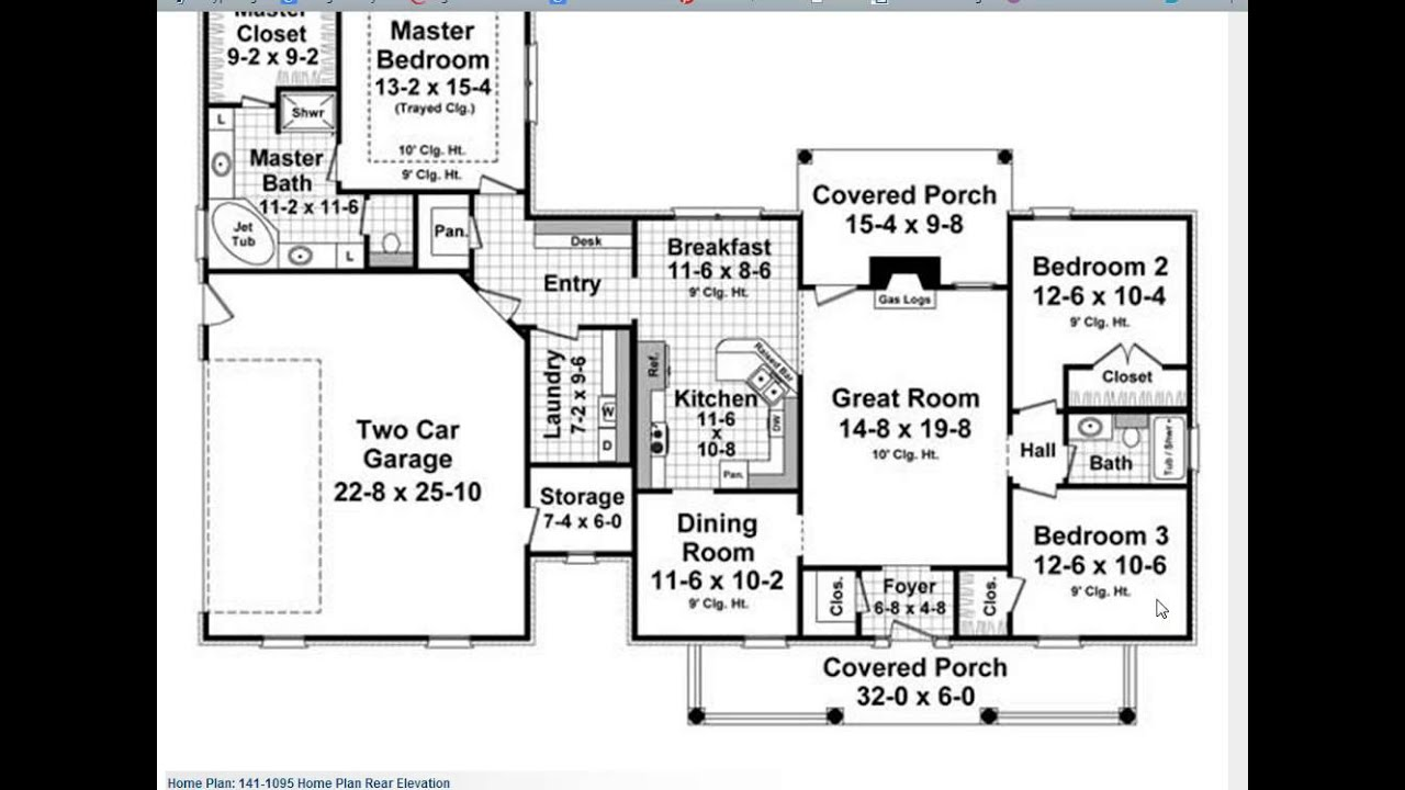 Top selling country house plan the plan collection youtube for Top rated house plans