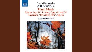 Pres de la mer, Op. 52: No. 4. Allegro moderato