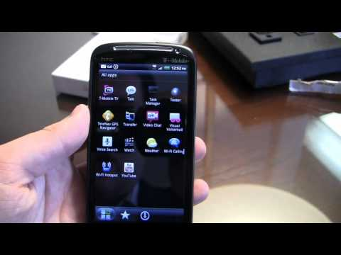 HTC Sensation 4G Unboxing