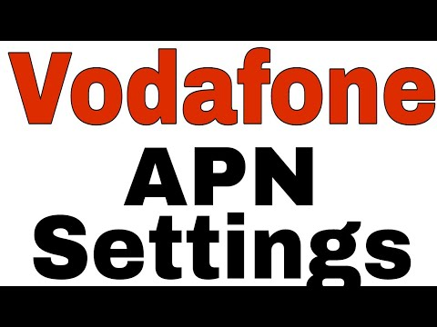 How To Setup Vodafone Faster Internet APN Settings 2018