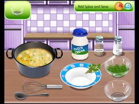 Sara's Cooking Class Games: Chicken Soup Cooking Games For Little kids