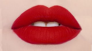 How to make ANY lipstick MATTE | AlexandrasGirlyTalk