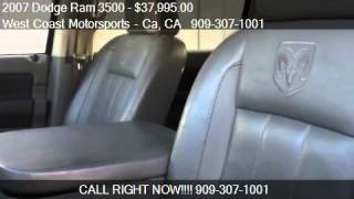 2007 Dodge Ram 3500 Laramie Mega Cab 4WD DRW - for sale in R