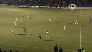 Defensor Sporting 2 (4) - (2) 0 The Strongest Copa Libertadores 2014
