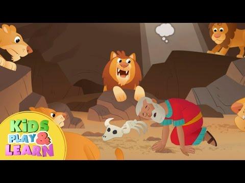 Daniel In The Lion's Den - A Roaring Rescue - Bible Story For Kids & Children