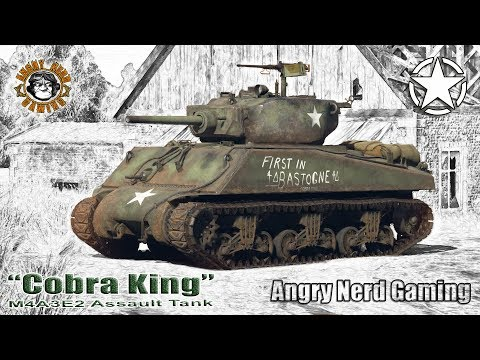 "War Thunder: ""Cobra King"" M4A3E2 Assault Tank, American, Tier-3, Premium Heavy Tank"