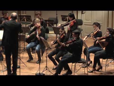 """Beethoven: """"Große Fuge"""" op. 133 -- Takács-Nagy, Weinberger Chamber Orchestra"""