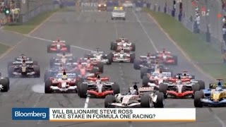 Stephen Ross Buying Formula One Stake for $8B?